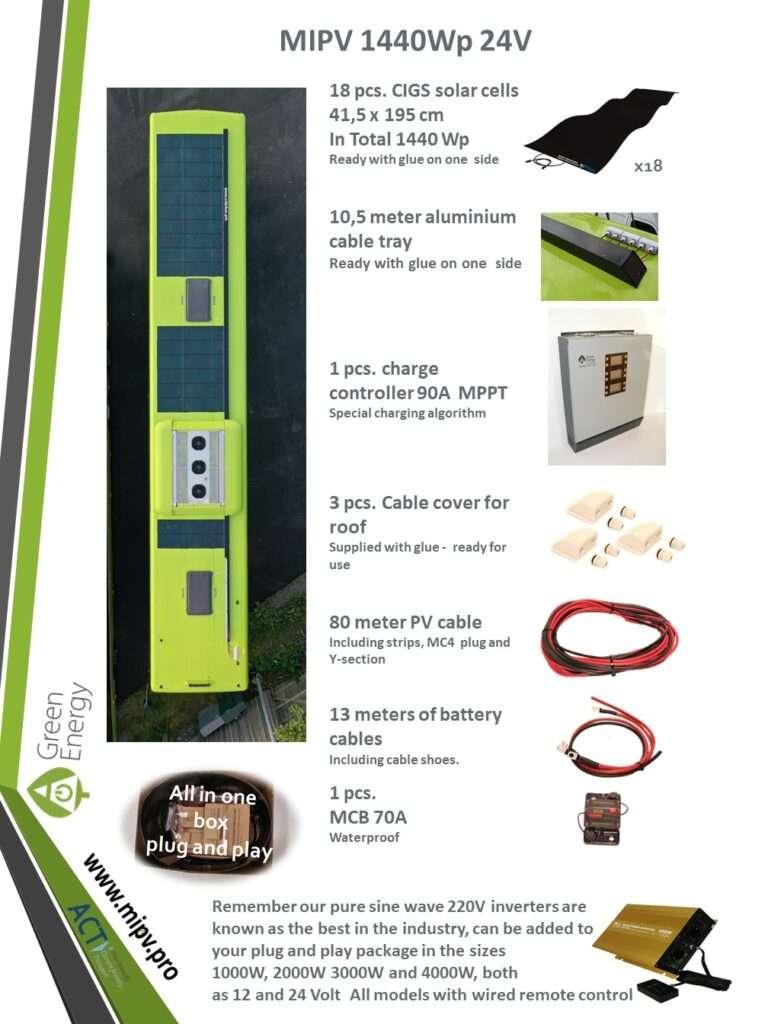 mipv sets -1440WP 12/24V