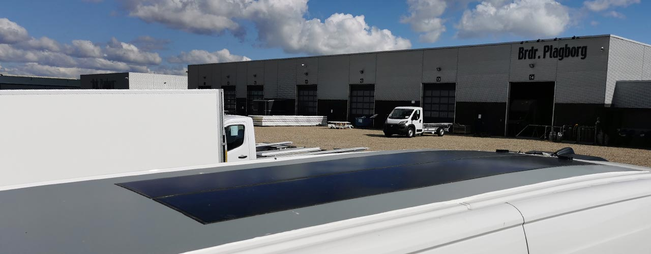 Scandinavia's largest builder of vans our solar panels