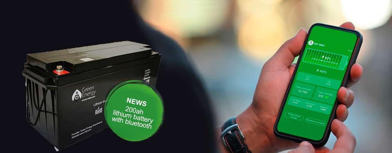 Lithium batteri green energy